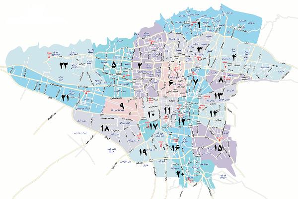 سمساری در تمام مناطق تهران